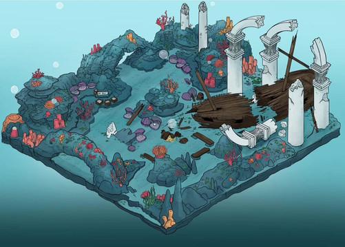 Underwater Environment Design