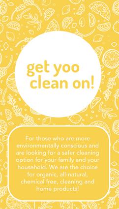Yoo Clean Business Card Back