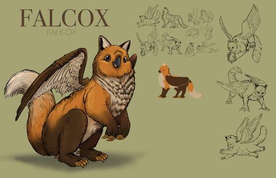 Falcox Creature Design