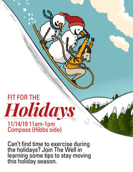 Fit for the Holidays Flyer