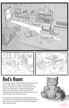 Red's Room Environment Design