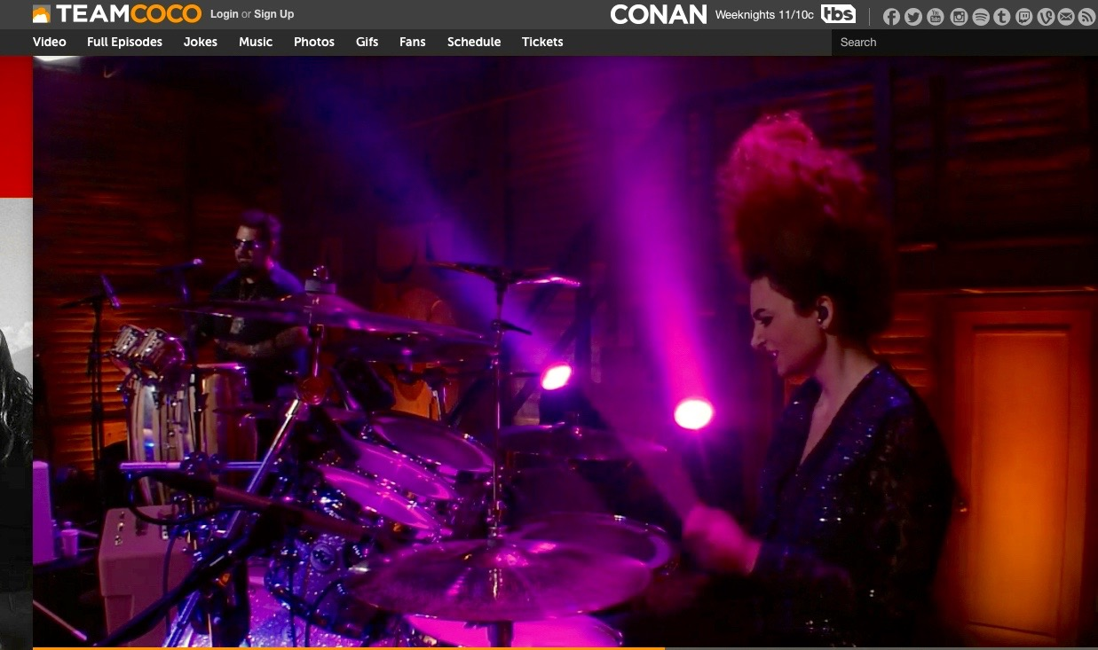 Live on Conan