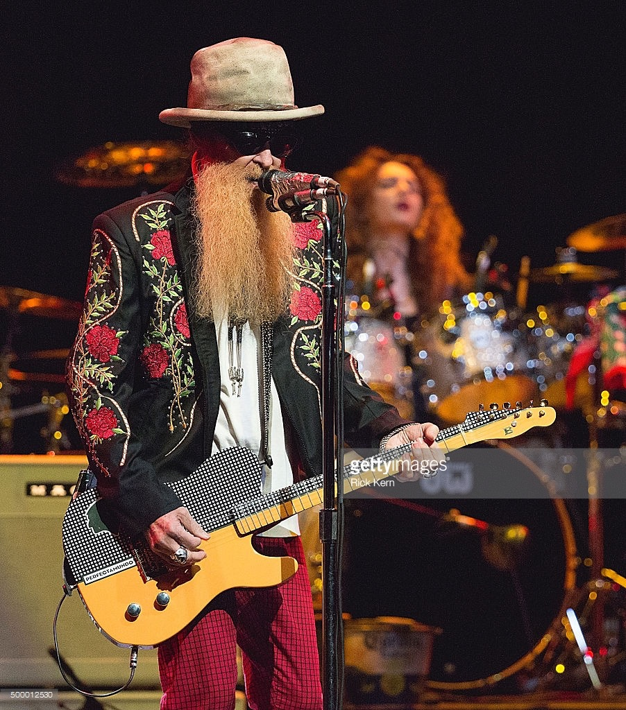 Live with Billy F Gibbons