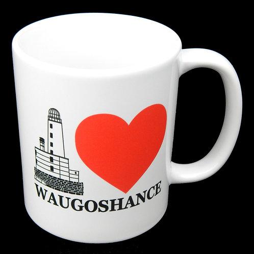 I Heart Waugoshance 11oz Mug