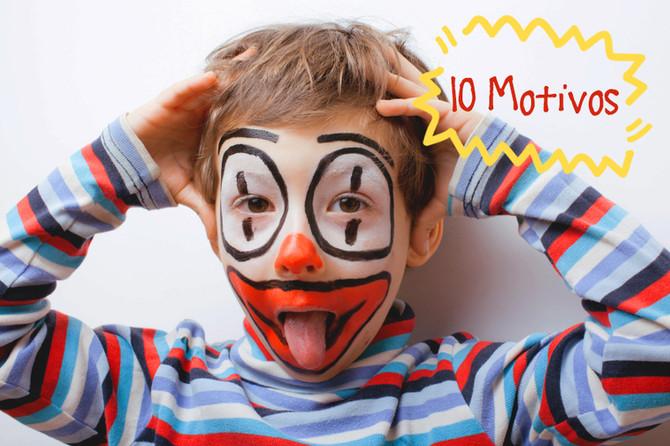 10 MOTIVOS para o seu filho fazer TEATRO.
