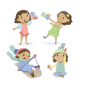 Character study created during an SCBWI intensive led by Sarah Hokanson