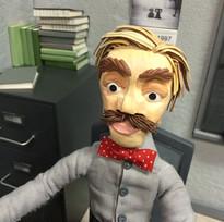 Teacher, from my short-film, Partially C