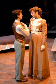 Design and Construction of Brown Dress, University of Evansville Theatre