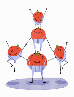 Tomato Acrobats