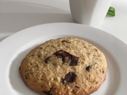 My Healthier Chocolate Chip Cookies