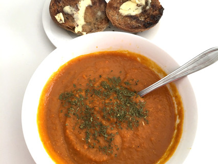 My Pumpkin & Carrot Soup Recipe