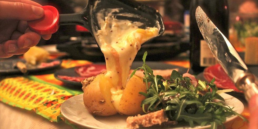 Schweizerischer Raclette-Abend