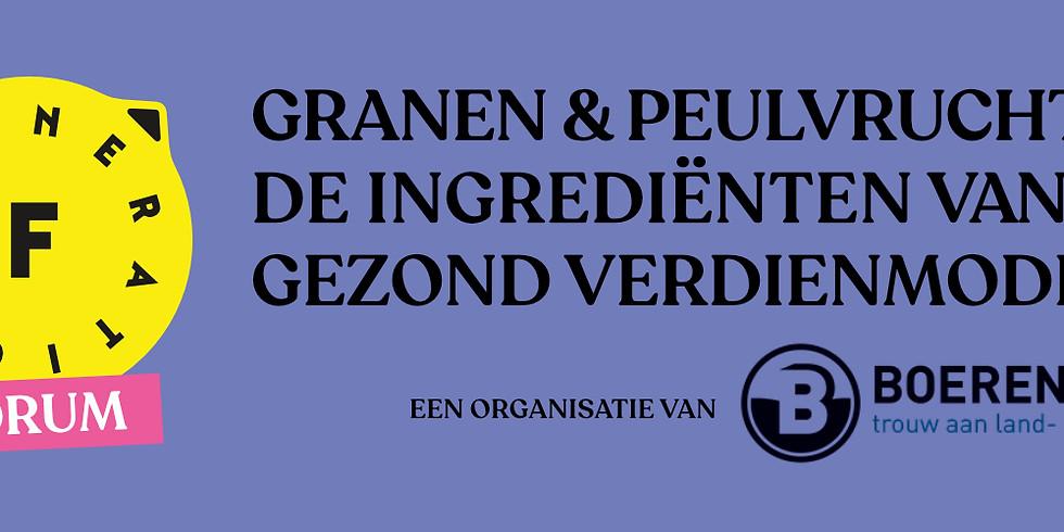 WEBFORUM. Granen & peulvruchten: ingrediënten van een gezond verdienmodel? + netwerkevent. (1)