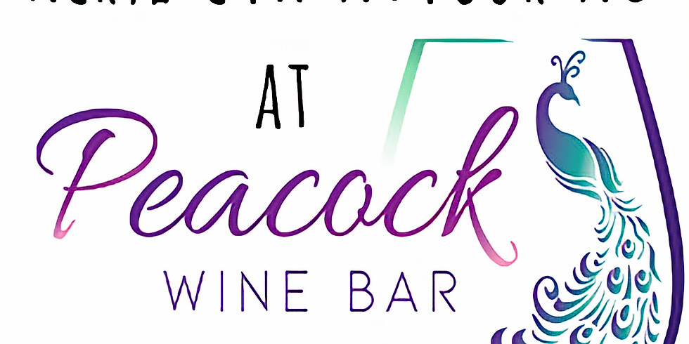 Join us for Ladies' Night and Paint With Me at Peacock Wine Bar