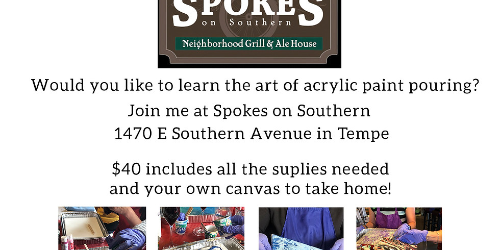 Paint With Me at Spokes on Southern
