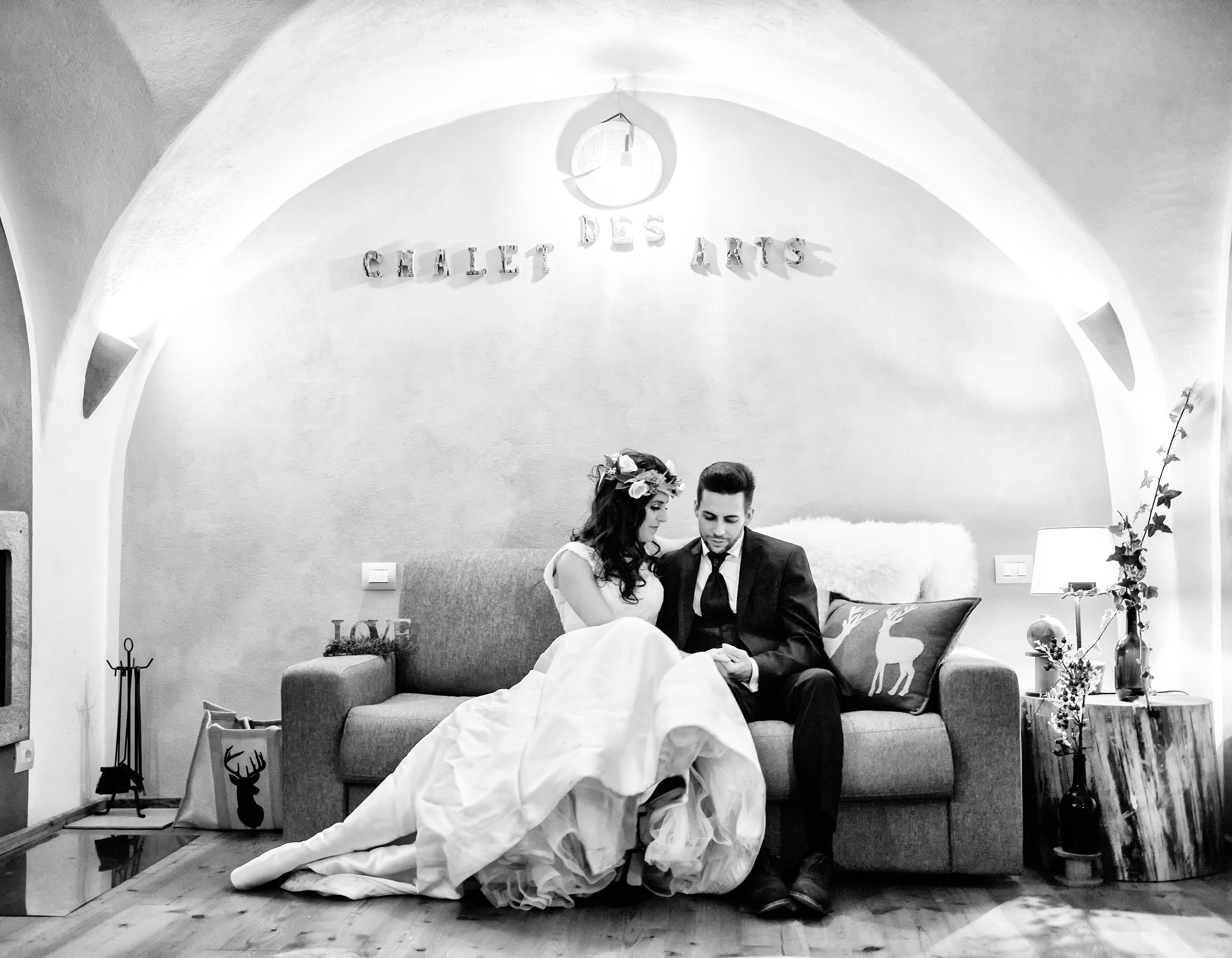 matrimonio in chalet