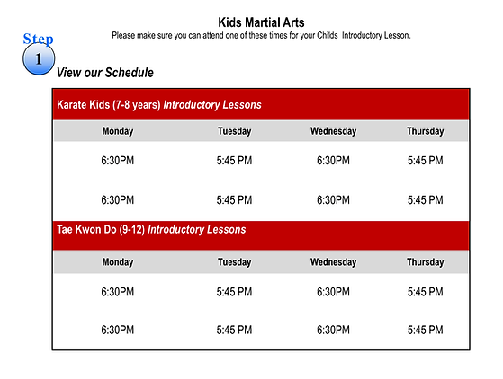 Kids Web Schedule and Intro Classes.png