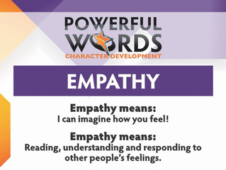 "EMPATHY ""I can imagine how you feel!"""