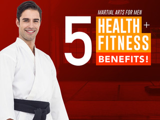5 Health & Fitness Benefits of Martial Arts for Men