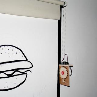 Prototype motorised blinds