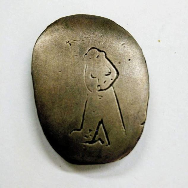 Pebble Medal Bams