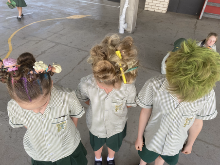 Mercy Works- Crazy Hair, Cupcakes and Cordial Day
