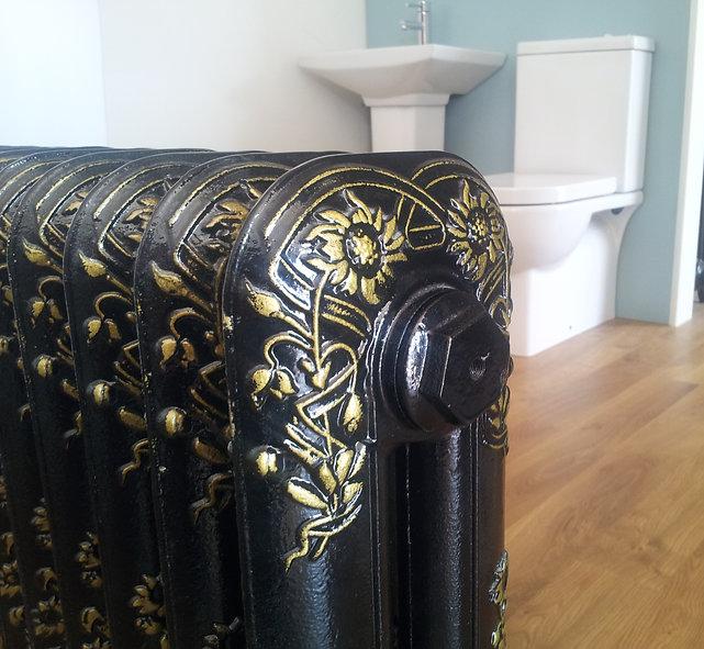 Cast Iron Radiators   Resurfacing Re enamelling baths sanitary ware