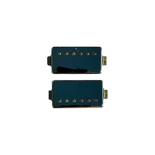 Nickel Cover Humbucker Set