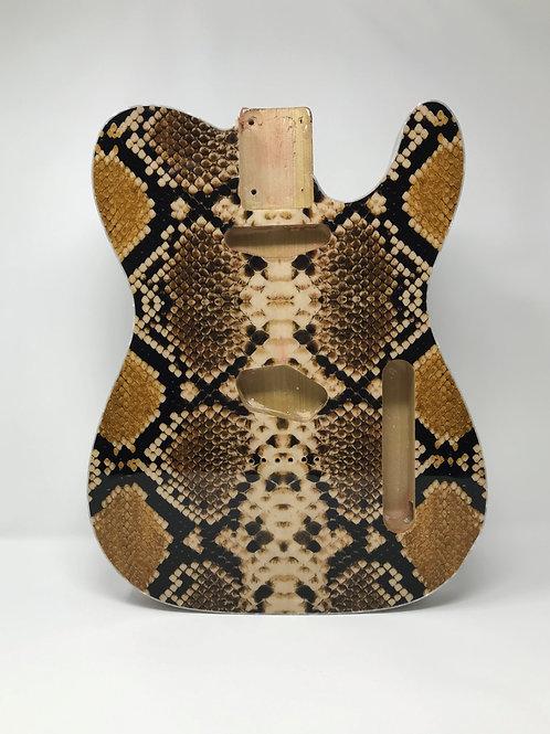 Python Snake Skin Fabric Body