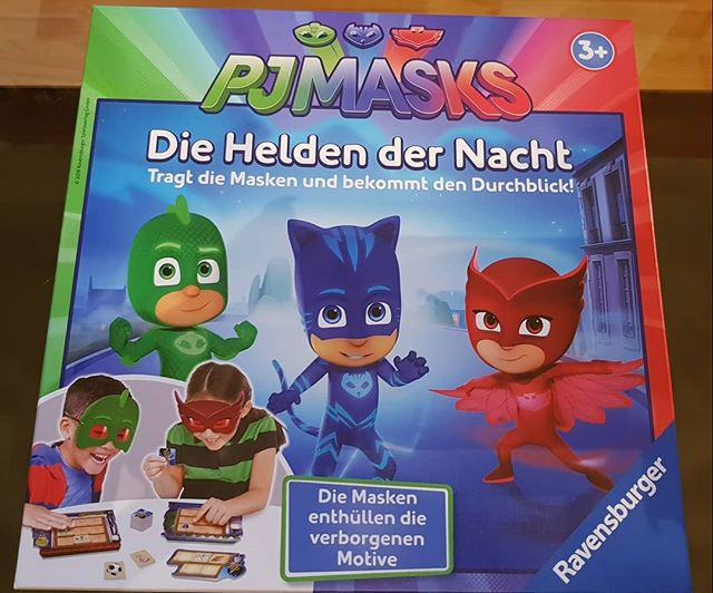 Produkttest PJMasks Spiel Helden der