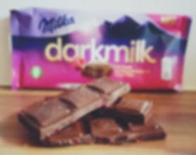 Produkttest darkmilk von Milka Schokolade