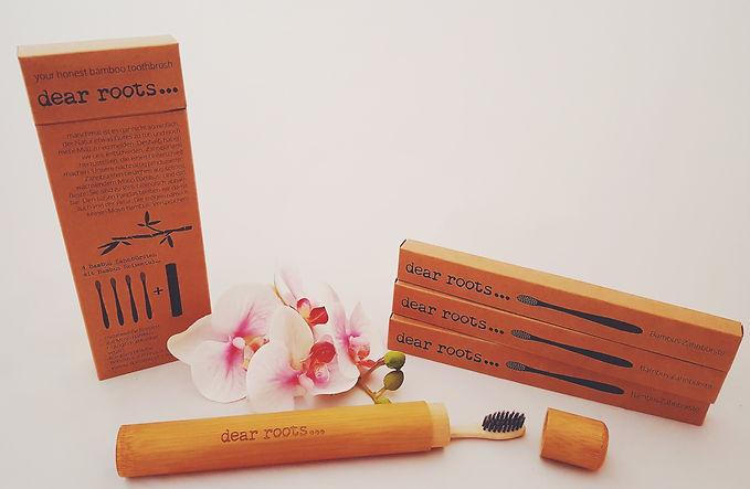 Produkttest dear roots Bambuszahnbürste