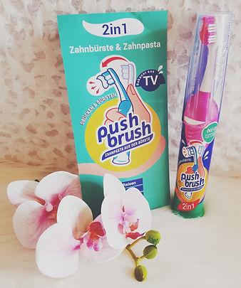 Produkttest Push Brush