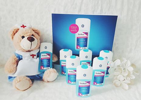 Produkttest Sterillium Protect&Care