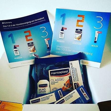 Produkttest Hansaplast Wundversorgungs Set