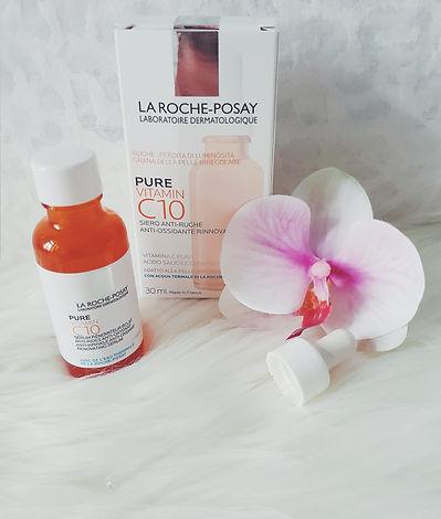 Produkttest Pure vitamin C10 Serum La Roche Posay
