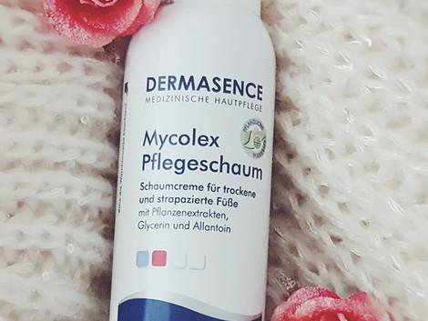 Produkttest Dermasence Mycolex Fußschaum