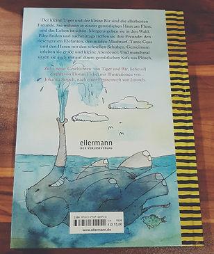 Produkttest Janosch Buch Freunde ist das Leben schön.