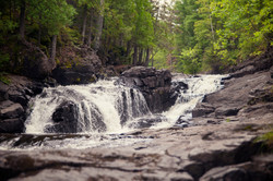 the falls of Sucker River
