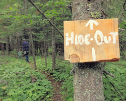 trail to the hide out