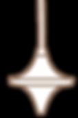 Inception Gold Orb Pendulum