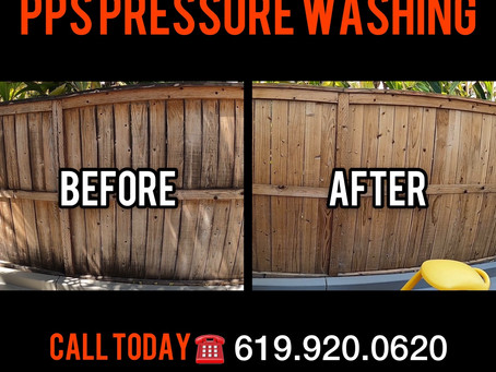 Fence Pressure Washing | PPS Gets the Job Done!