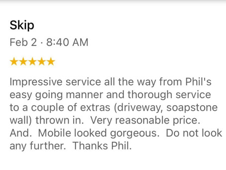 5 Star Reviews Are Our Favorite