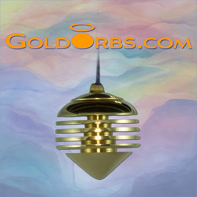 Angelsong Gold Orb Pendulum