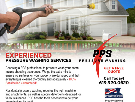 Experienced Pressure Washing Services for Your Home
