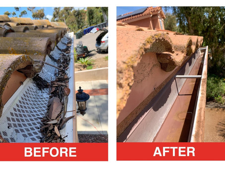 Gutters & Downspouts | Keeping Them Clean!