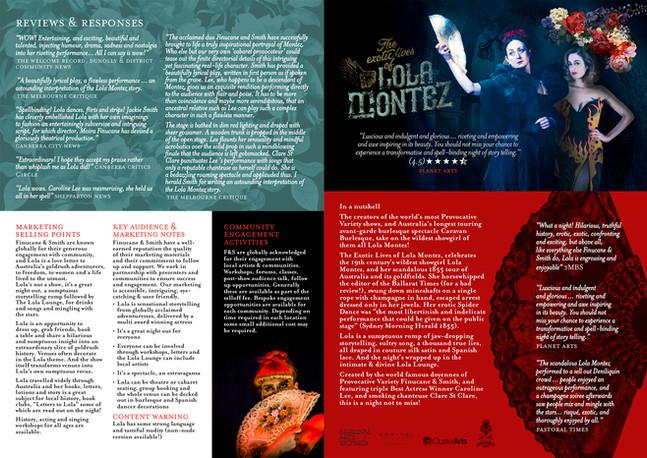The Exotic Lives of Lola Montez Infomati