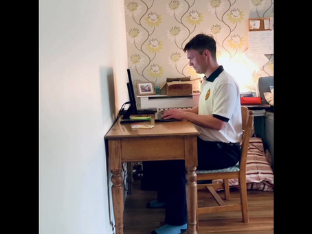 Working at home? Using a basic kitchen chair? Here's Lasse with some ergonomic tips. Happy working!