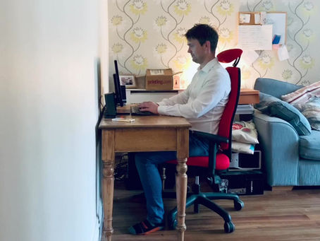 Tier 3? Still working from home? Lastly we look at positioning your screen, keyboard and mouse...