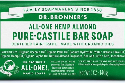 Dr. Bronner's Hemp Almond (bar soap)